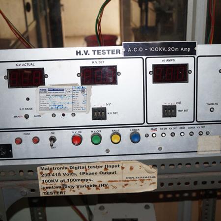 HV-Tester-(Control-panel)