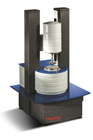 Thermofischer Rheometer for High-shear viscosity using cone_plate viscometer