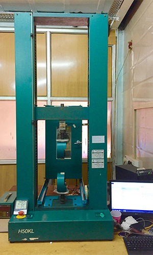 Tinius Olsen 50 kN UTM with Environmental chamber